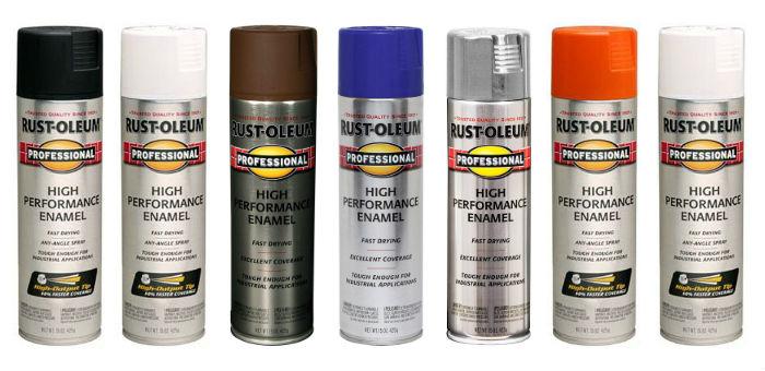 Rust-Oleum Professional High-Performance Enamel