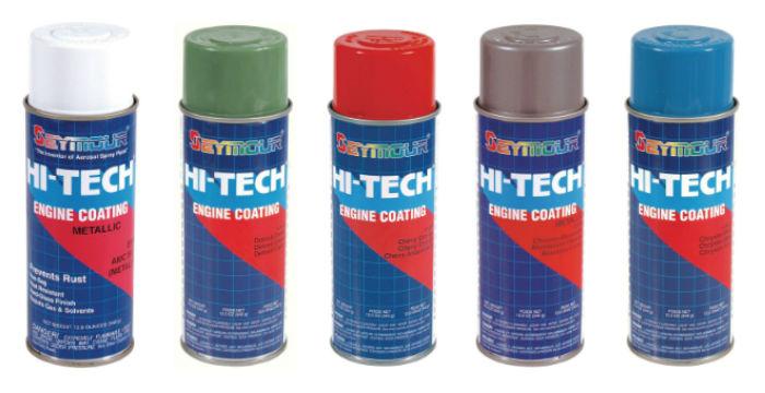 Seymour Hi-Tech Engine Coating Metalic Spray Paint
