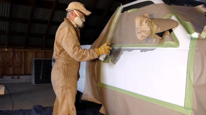 Can Spray Paint be Considered as an Anesthetics?