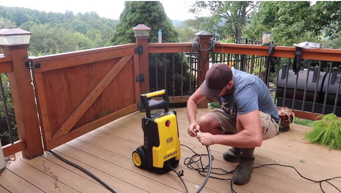 What is a pressure washer and how does it work