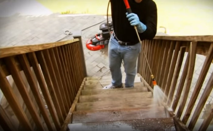 wash the exterior of your house