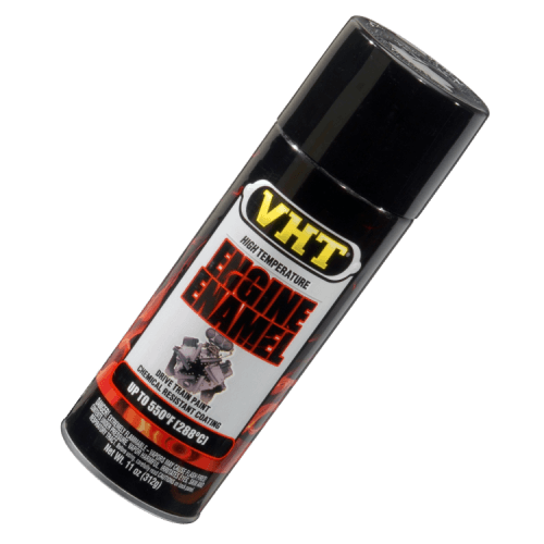 VHT ESP124007 Engine Enamel Gloss Black Can