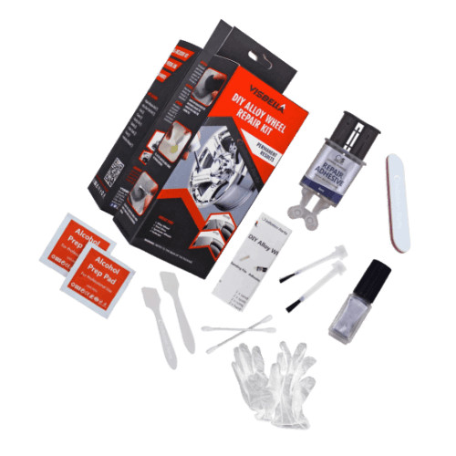 Visbella DIY Alloy Wheel Repair Kit Fix Curb Rash