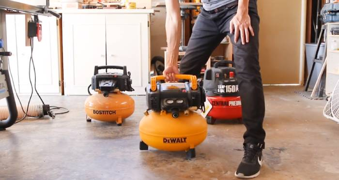 Why choose small air compressors