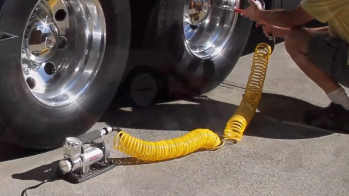 What Is A Portable Air Compressor For Truck Tires