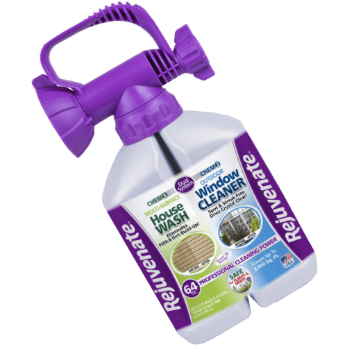 Rejuvenate Dual System Outdoor Window Cleaner and House Siding Cleaner