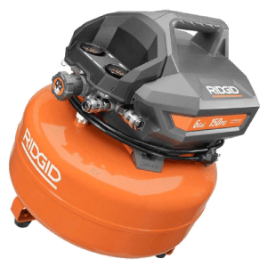 Ridgid 6 Gallon Electric Pancake Compressor