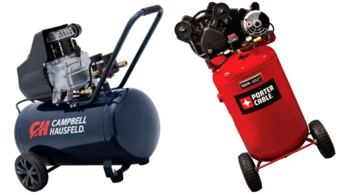 Vertical or Horizontal Tank Air Compressor
