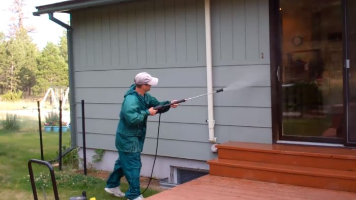 Wait To Paint After Pressure Washing