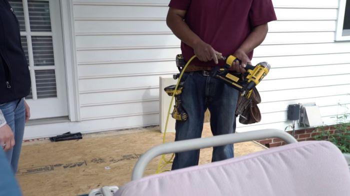 Air Tools Using Air Compressor