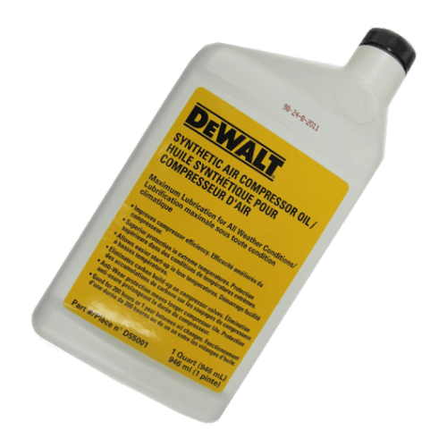 DEWALT D55001 Synthetic Compressor Oil