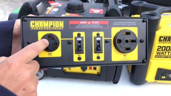 Power Equipment In Outdoor Events