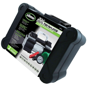 Slime 40026 2X Heavy Duty Direct Drive Air Compressor