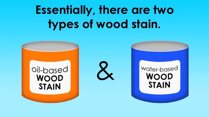 Types of Deck Stain