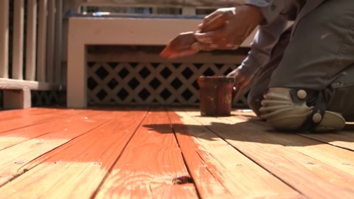 Why should you paint or stain your deck