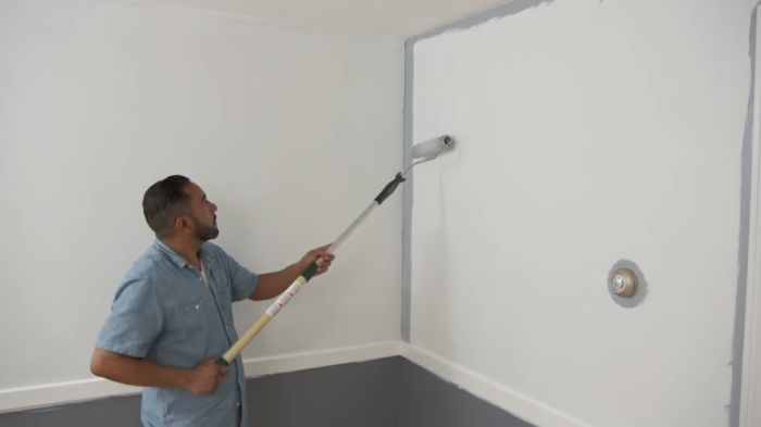 How often should walls be painted