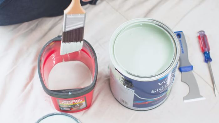 The lifespan of paint with seal