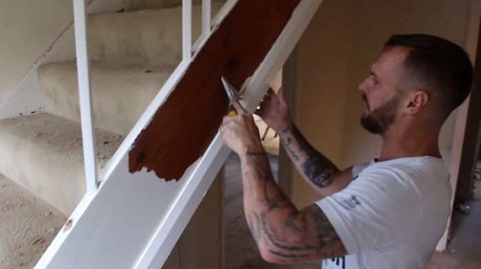 How Do You Paint Stained Wood