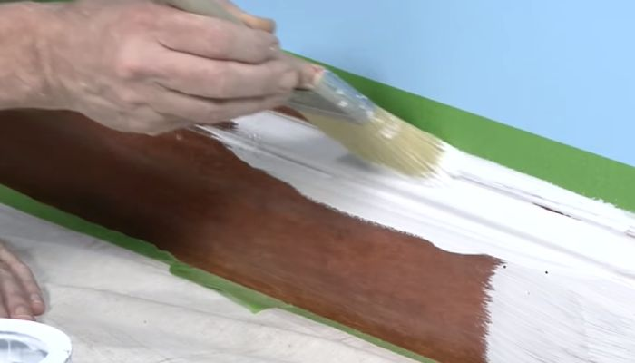 Can You Whitewash over Stained Wood