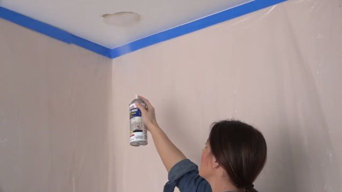 Can you paint over mildew