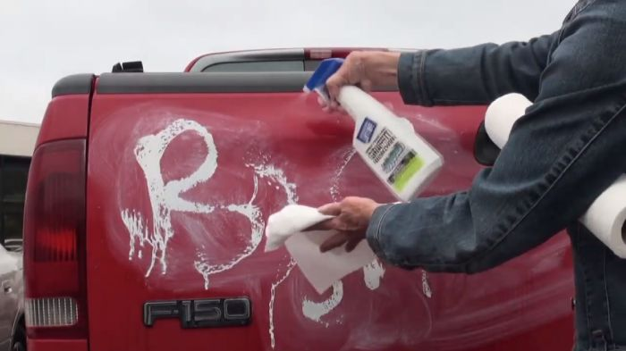 Tips on using spray paint remover