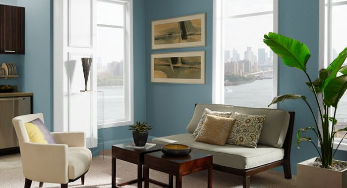 Behr Sophisticated Teal HDC-CL-22