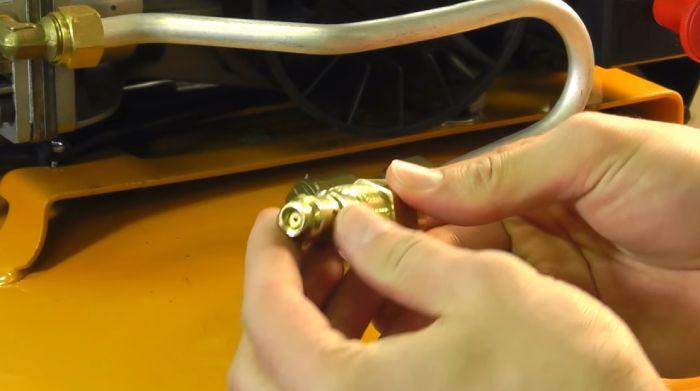 Air Compressor Check Valve Work