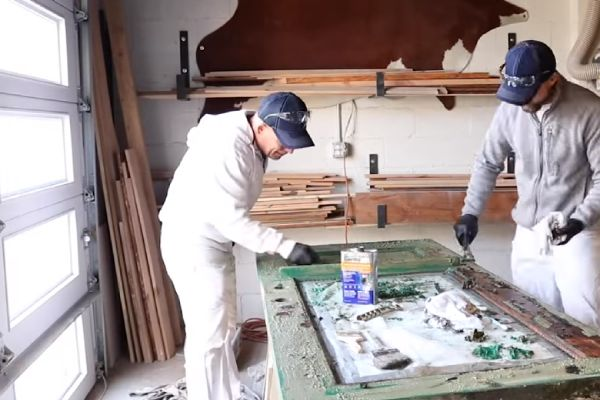 Remove Paint from Wood without Sanding