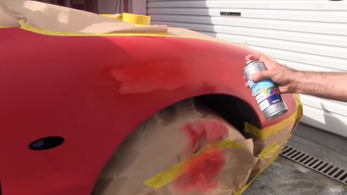 Apply A Clear Coat After Spray Painting