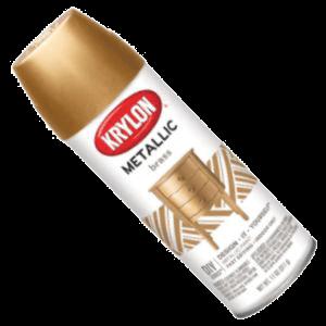 Krylon Spray Paint Brass K02204
