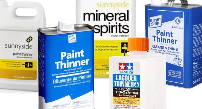 How many types of paint thinner