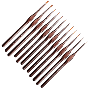 Shoppe Miniature Paint Brushes