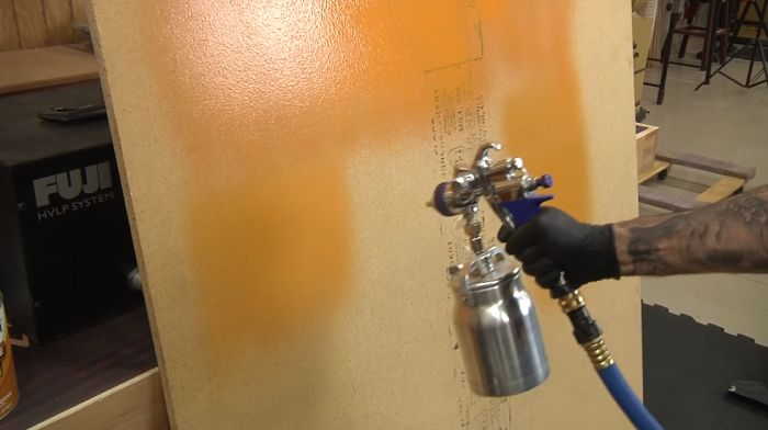 Turbine Paint Sprayer Work