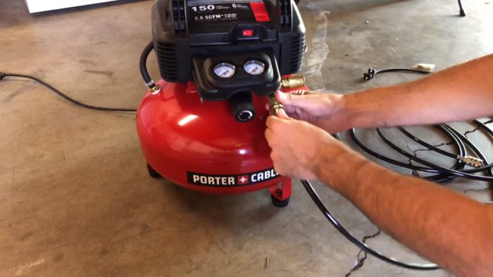 Locating Your Air Compressor