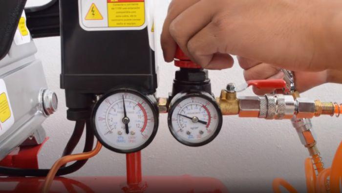 Setup your air compressor