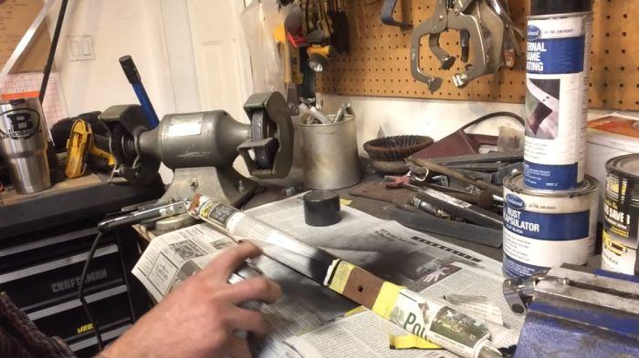 Time Test On Rust-Oleum Rust Reformer