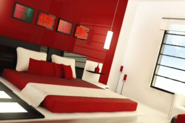 Two Colour Combination For Bedroom Walls