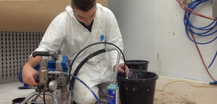 How To Clean Graco 395