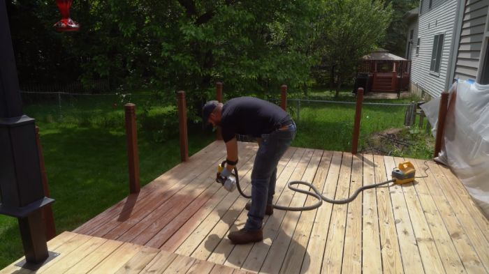 How To Paint Deck