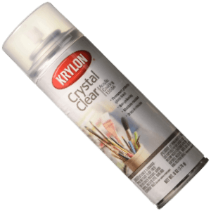 Krylon K01306 Triple Thick Clear Glaze Aerosol Spray