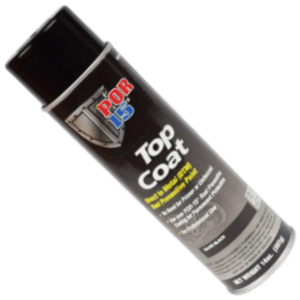 POR-15 45818 Top Coat Gloss Black Spray Paint