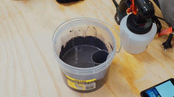Pour all-purpose paint