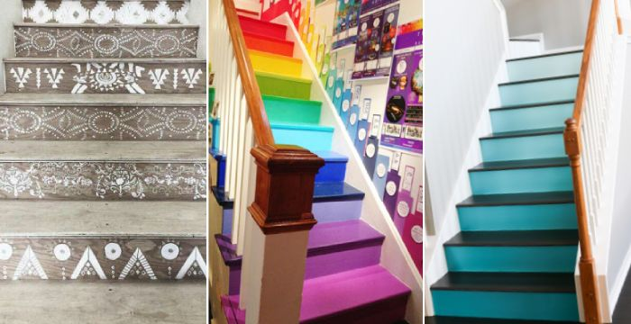 Some Fresh Idea Painting For Your Stairwell