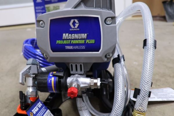 Graco Magnum Project Painter Plus Paint Sprayer Review
