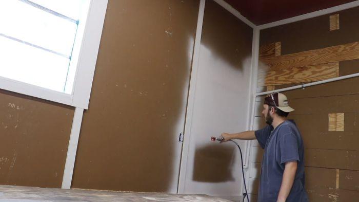Paint Spraying Mechanism