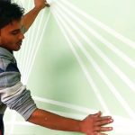 Using Painters Tape Wall Designs