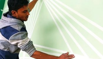 Best 10 Ideas for Using Painters Tape Wall Designs