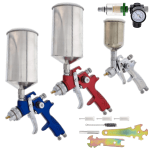 TCP G7000 HVLP Spray Gun Set