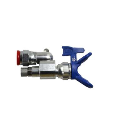 Cleanshot shut-off valve