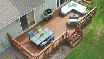 How To Spray Stain A Deck With A Spray Gun?